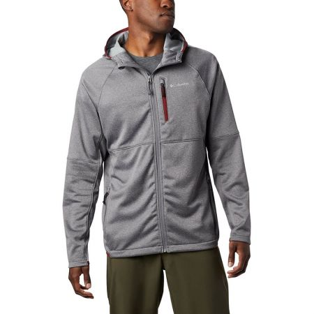 Polar Barbati Columbia Outdoor Elements Hooded Full Zip